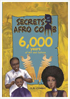 Secrets of the Afro Comb, 6,000 Years of Art and Culture - Cover